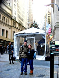 On Wall Street!