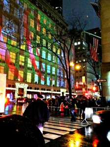 Fifth Avenue at night!